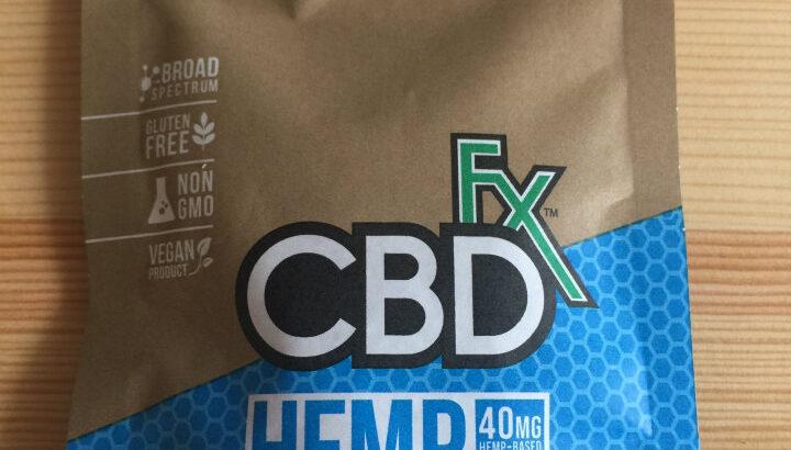【CBD】CBD FXのグミを食べたので食レポ的にレビュー
